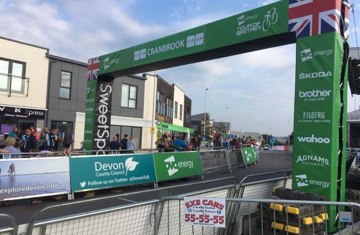 Tour of Britain in Cranbrook
