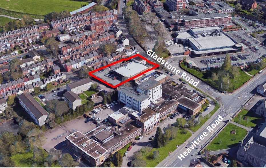 The Exeter ambulance station site is currently up for sale.