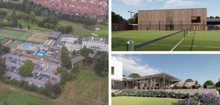 Airdome and new sports bar in masterplan for redevelopment of Exeter Golf and Country Club
