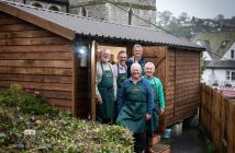 The official opening of the Beer Men's Shed. Picture: Guy Newman/Rekord Media
