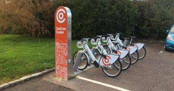Co-bikes electric bicycle stations coming soon to Heavitree and Pinhoe in Exeter and Cranbrook