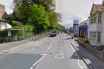 The collision took place in Cowley Bridge Road, Exeter. Picture: Google Maps