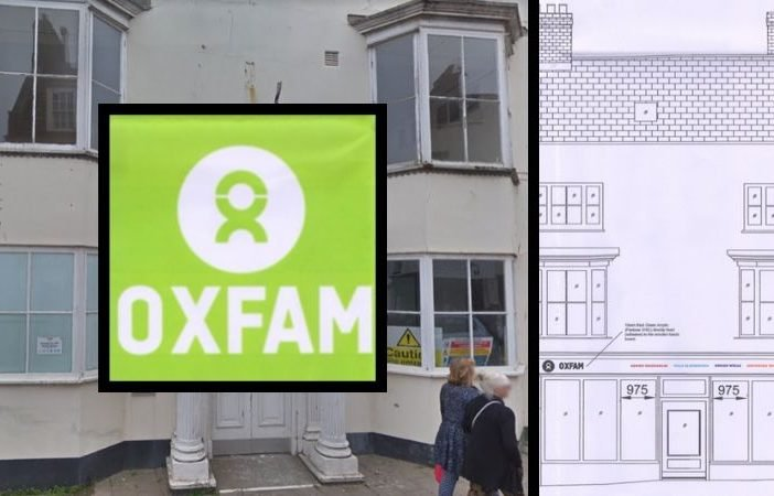 Oxfam wants to open a charity shop at 49 High Street, Sidmouth. the premises is pictured in May 2018 - image courtesy of Google Maps.