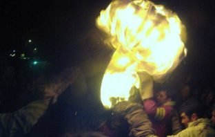 A scene from a previous Ottery Tar Barrels event. Picture: Tony Whiteley