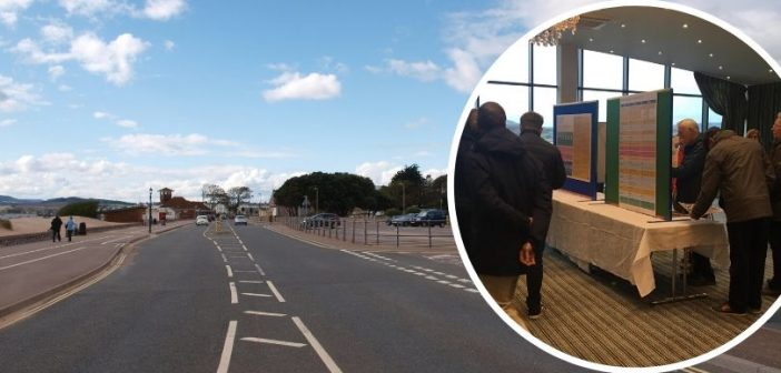 Exmouth seafront development exhibition of survey results ignites public interest