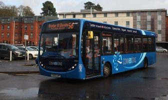 Stagecoach services in Exeter came under scrutiny.