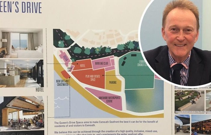 East Devon District Council leader Ben Ingham was speaking about the final phase of redevelopment on Exmouth seafront.