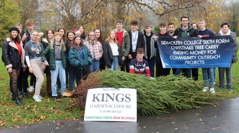 2019's sixth formers carried on the festive tradition this week.