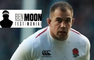 England and Exeter chiefs rugby star Ben Moon.