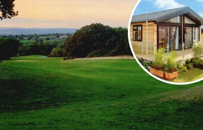 Holiday lodges are proposed for part of the nine-hole golf course at Woodbury Park. Images featured in the planning application courtesy of Avision Young.