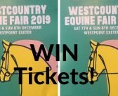WIN! Ticket giveaway for the Westcountry Equine Fair