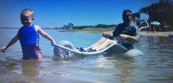VIDEOS: Beach wheelchair crowdfunding campaign set to launch in Exmouth