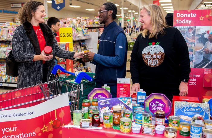 More than two millions meals were donated to Tesco stores nationwide.