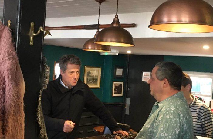 In The Swann Inn. Picture: Daniel Clark