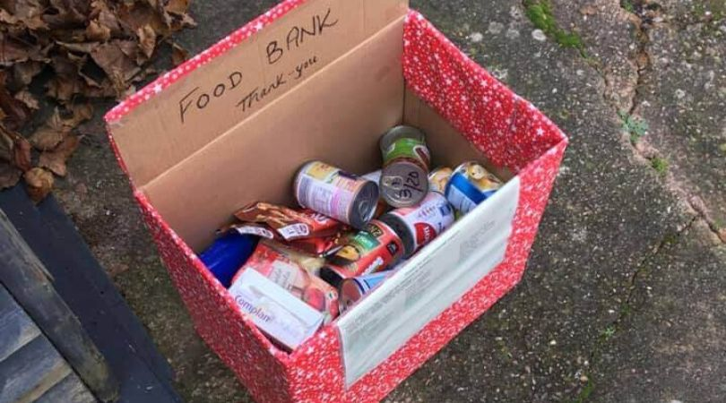 Donations began pouring in for Exmouth Community Larder.