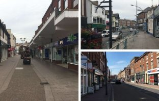 Exmouth town centre could be in line for a huge funding boost.