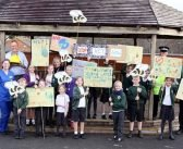 VIDEO & PHOTOS: Budleigh's primary school is first in Devon to declare a climate emergency and earns praise from Greta Thunberg ally