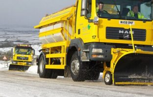 Devon County Council's gritters will be out from midnight.