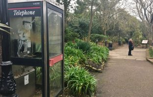 The payphone in Connaught Gardens, Sidmouth, has only been used three times in a year.