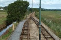 Seaton Tramway and the Swan's Nest Loop. Image: Chris Allen