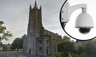 Plans have been submitted to install seven CCTV cameras at Holy Trinity Church, in Rolle Road, Exmouth. Main image: Google Maps