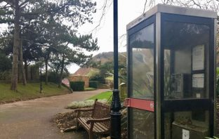 BT wants to remove the payphone in Connaught Gardens, Sidmouth.