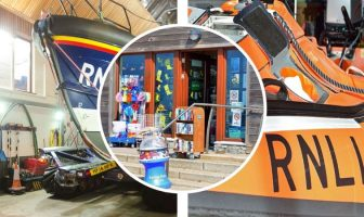 Exmouth RNLI is on the lookout for new volunteers at its shop and lifeboat station. Pictures: John Thorogood / RNLI