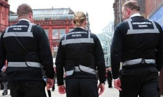 Exeter: Environmental patrol officers from 3GS. Image: Leeds City Council