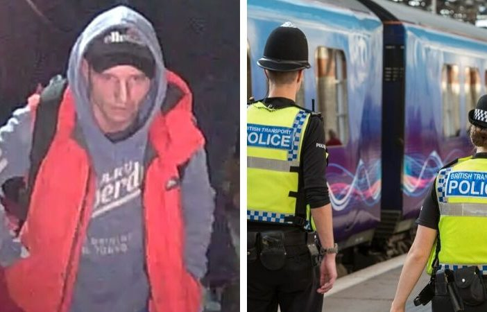 Exmouth and Exeter: British Transport Police say they would like to identify this man as he may be able to help with their investigation.