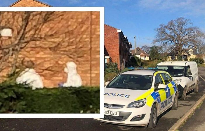 Police and forensic officers were in the Brixington area of Exmouth on Friday morning. Picture: Darrel Trigs