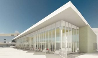 An artist's impression of the new Exeter bus station. Image: Exeter City Council