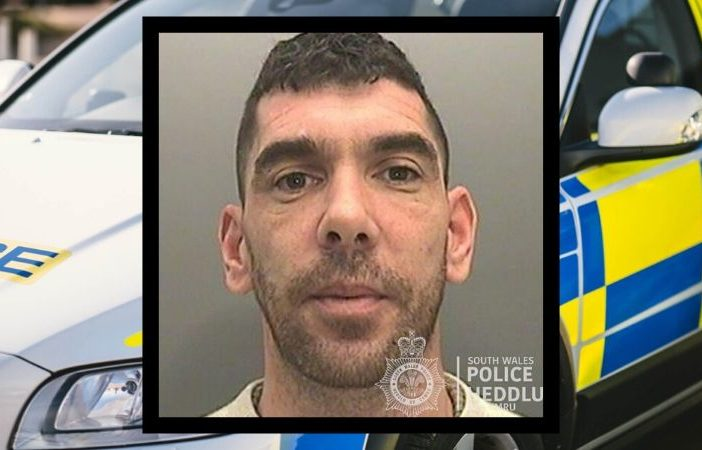 Stephen Gronow, aged 38, who is believed to have links to Exmouth, is wanted by South Wales Police.