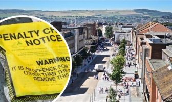 Nine of Devon's top 10 hotspots for parking tickets are in Exeter.