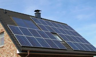A study is taking place to see if East Devon residents and businesses could be rewarded for using energy-efficient measures like solar panels.