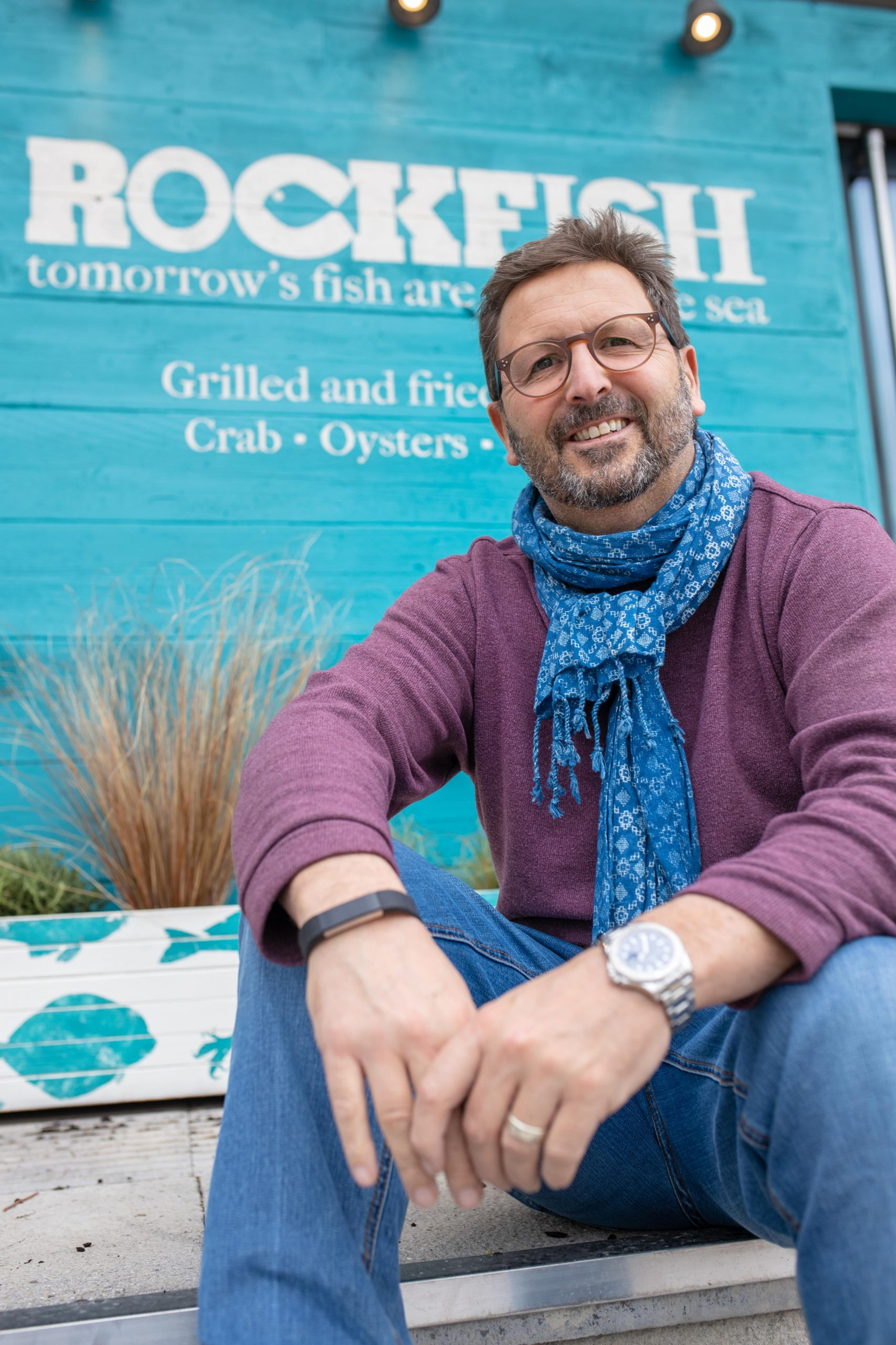 Rockfish owner Mitch Tonks says he is looking forward to opening an eatery in Sidmouth.