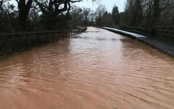The ford at Broadclyst. Picture: Broadclyst Parish Council