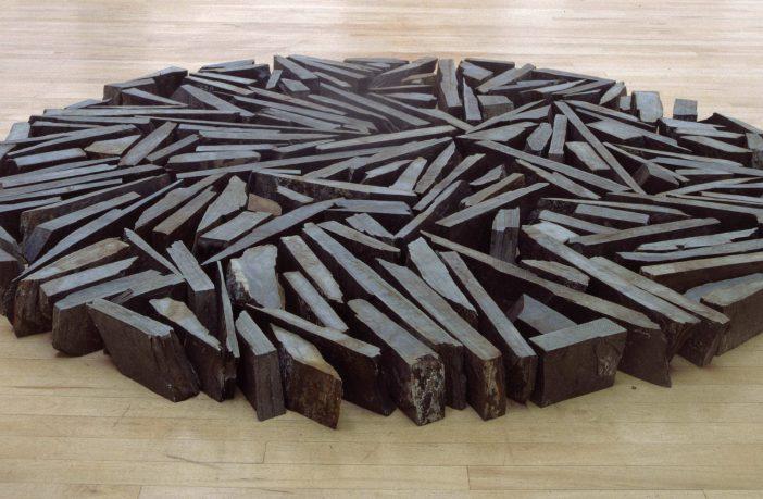 South Bank Circle (1991) by Ricard Long Thelma Hulbert Gallery Honiton