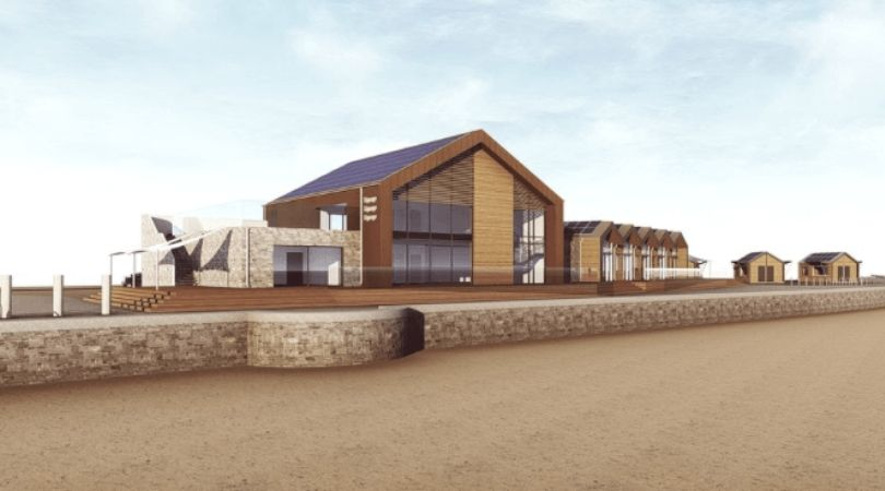 Before: An original design for Sideshore in Exmouth. Picture: Grenadier