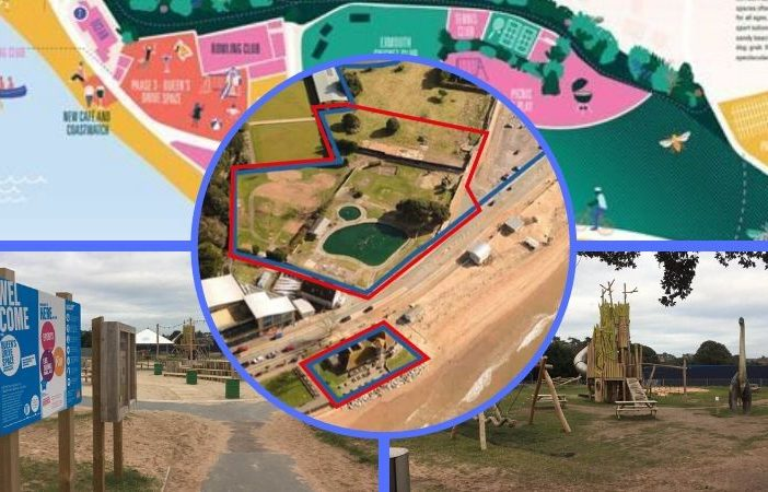 The future of Exmouth seafront and Queen's Drive has been up for debate.