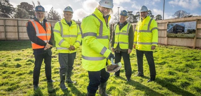Work begins on new carbon zero Science Park building that will create up to 150 jobs for East Devon
