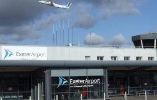 Picture courtesy of Exeter Airport.