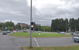 The A3015 Honiton Road and Moor Lane roundabout in Exeter. Picture: Google Maps