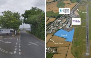Improvements to Long Lane, which runs past Exeter Airport, are ket to a new business park serving East Devon and the city.