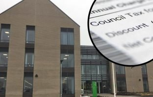 East Devon District Council takes 7p from every £1 of residents' overall council tax bills.
