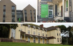 East Devon District Council relocated from Knowle in Sidmouth to Blackdown House in Honiton and Exmouth Town Hall a year ago.