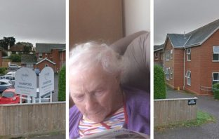 Jessie Gannon is 100-years-old and faces being moved to another home amid the coronavirus lockdown, because Abbeyfield has decided to close Shandford, in Budleigh Salterton, where she has lived for more than two years.