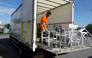 Community equipment collected from household waste recyling centres. Picture: Devon County Council