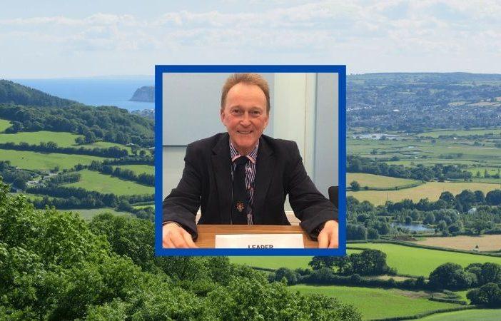 East Devon District Council leader Ben Ingham.