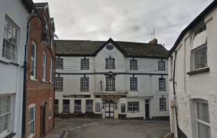 The rear of the Kings Arms in Ottery St Mary. Image: Google Maps.