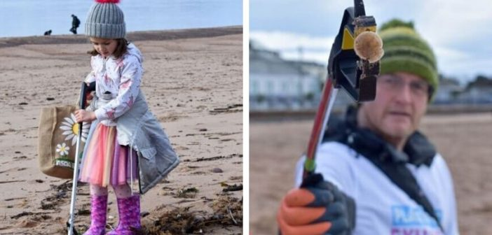 PHOTOS: Exmouth beach clean highlights unseen rubbish left on the coast